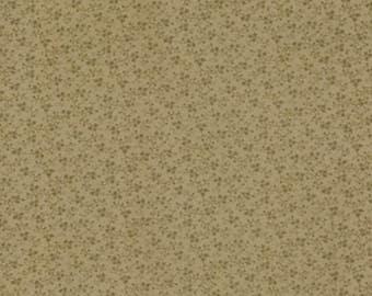 Moda Quilt Fabric - Blackbird Designs - Blueberry Crumb Cake Series - Brown Print -  Two Yards