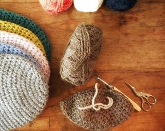 Beanie for kids, crochet