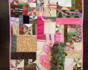 Afternoon Tea Fidget Quilt / Sensory Blanket