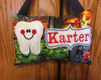 Marve Personalized Tooth Fairy Pillow