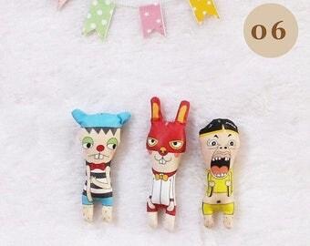 Tiny dolls / Set of 3 pcs.