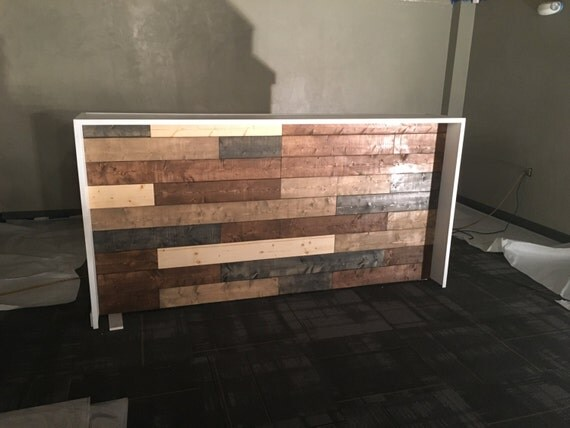 The Anthem 8 39 Industrial Rustic Pallet Wall Look Two