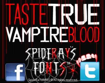 VAMPIREblood Commercial Font