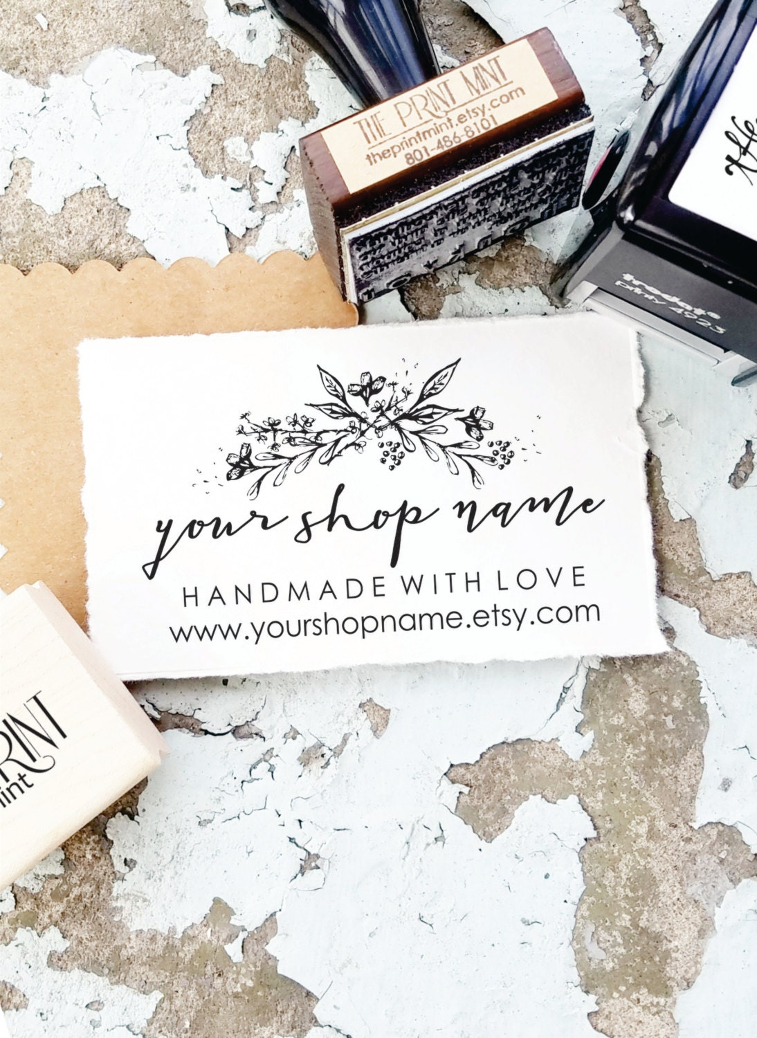 Custom Business Card Stamp Choice Image - Free Business Cards