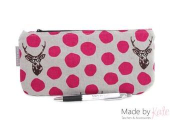pencil case, pen pocket, small bag, make-up bag, KOKKA Buck