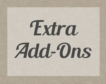 Extra Add-Ons