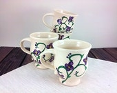 Violet Purple Pottery Mug...