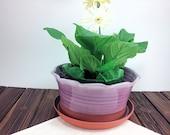 Ceramic Pottery flower po...
