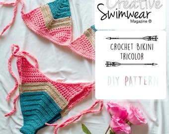 Crochet Bikini Pattern - How to make Crochet swimwear
