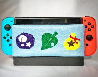 Nintendo Switch Dock Cover: Animal Crossing (Dock Sock, Dock Sleeve, Dock Protector, Dock Cozy, Switch Accessory)