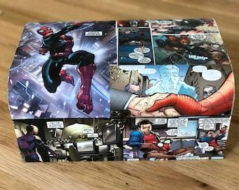 Spider Man comic box