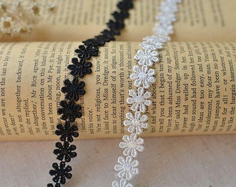 3.2ft (1m) 1.2cm Lace necklace material . chocker. Clothing accessories.chocker lace