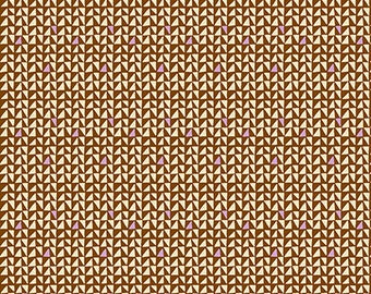 Power Point in Cocoa by Amy Butler from the Soul Mate collection for Free Spirit #CPAB006.8Coco by 1/2 yard