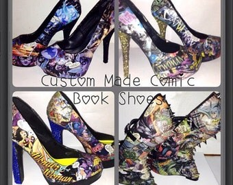 Two custom made shoes holiday special