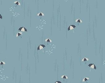 Charleston - Rainbrella Mist by Amy Sinibaldi for Art Gallery Fabrics, 1/2 yard, CHA-41702