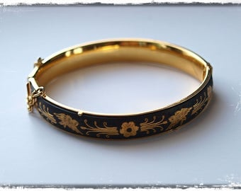 Vintage damascene bangle/bracelet