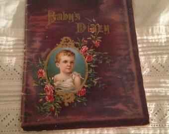 1905 Borden's Condensed Milk Co. Baby Diary