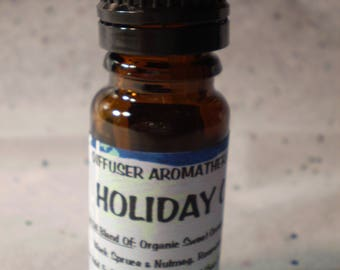 Holiday Cheer Aromatherapy Diffuser Blend - Pure Essential Oil Blend - Holistic - Diffuse