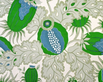 One Side or Both Sides Pillow Cover in Outdoor Carnival Verde