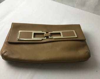 Anya Hindmarch Brown leather Clutch