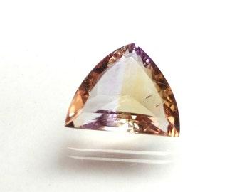 16x13x7 mm Ametrine  Faceted Gemstone