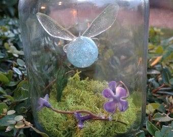 Navi fairy in a jar- legend of Zelda inspired