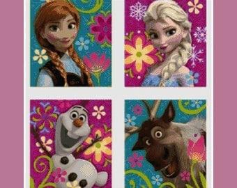 Frozen collage - cross stitch pattern - PDF pattern - instant download!