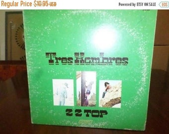 Save 30% Today Vintage 1973 LP Record ZZ Top Tres Hombres London Records Very Good Condition 6893