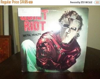 Save 30% Today Vintage 1983 LP Record Quiet Riot Metal Health Pasha Records Very Good Condition 7208