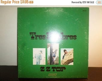 Save 30% Today Vintage 1978 LP Record ZZ Top Tres Hombres Excellent Condition 8207