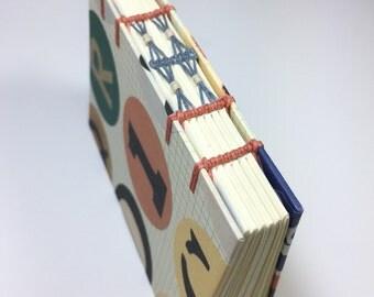 Mini Notebook, Small Sketchbook, Handmade Book, Art Journal, Pocket Notebook
