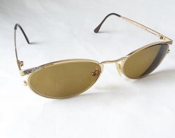 Vintage Cotton Club Glasses, Italian Made Eyewear