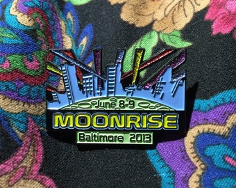 Moonrise 2013 Hat Pin - LAST ONE