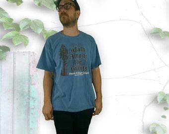 Walk Among The Giant Sequoia 90's Tee Shirt