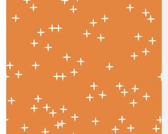 Mod Basics 3 WINK Orange by Birch - Organic Cotton (0.25m)