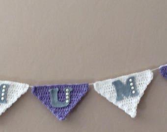 Custom Crochet Bunting