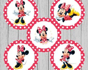 Minnie Mouse Bottle Cap Images