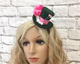 Mad Hatter Micro Mini Top Hat