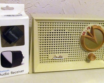 Vintage 1955 Arvin Tube Radio with Blutooth