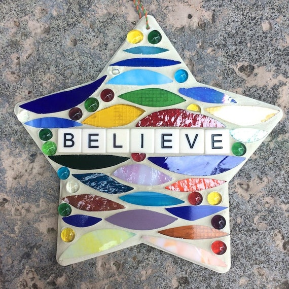 Stained Glass Mosaic Inspirational Motivational Affirmations Quotes Art with a Message Made in Hawaii Deesigns by Harris©