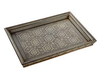 Syrian Vintage Inlaid Tray