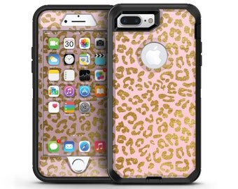 Pink Gold Flaked Animal v2 - OtterBox Case Skin-Kit for the iPhone, Galaxy & More