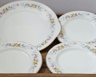 Mayfair China Plates Vintage Plates Old