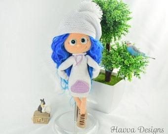 Crochet Pattern  - Lea Doll (Amigurumi Doll)