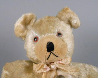 Vintage Japan Rayon Plush Teddy Bear
