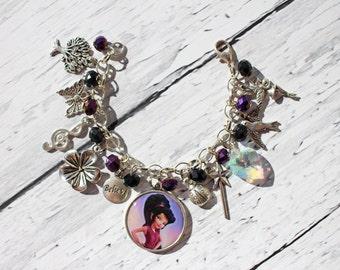 Tinker Bell Vidia Inspired Charm Bracelet