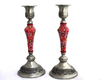 housewarming gift candlesticks,  house warming gift Candlestick holders , wedding gift  candle holders