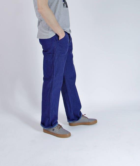 SALE - 90s Kempel Sanforized Workwear Denim Pants / Men M/L