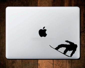 Snowboard Wayback Decal, Snowboarding Decal, Snowboard Decal, Macbook Decal, Laptop Decal, Laptop Stickers