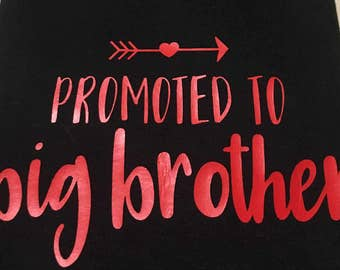 Promoted to Big Brother- Pregnancy Annoucement